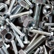 Nuts and bolts — Foto de stock #11340066