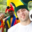 Soccer fans — Stock Photo #11364424