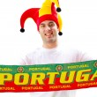Portugal sports fan — Stock Photo