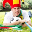 Soccer fan — Stock Photo #11364479