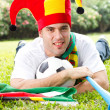 Stock Photo: Soccer fan