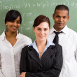Young school teachers — Stock Photo