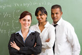 Group of shcool teachers — Stock Photo