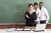 Group of young teachers — Stock Photo