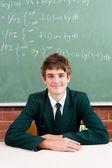 High school boy — Stock Photo