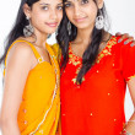 Indian girls — Stock Photo