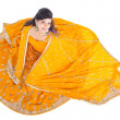 Stock Photo: Indiwomin traditional clothing sari