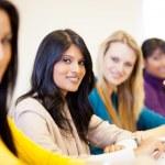 University students in classroom — Stock Photo #11939773