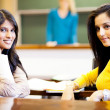 College students in classroom — Stock Photo