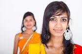 Dvě krásné indické dívky — Stock fotografie