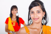 Two indian women — Stock Photo