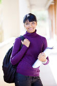Indian college girl — Stock Photo