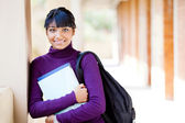 Female teen indian high school student portrait — Stok fotoğraf