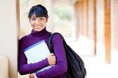 Female teen indian high school student portrait — Stock Photo