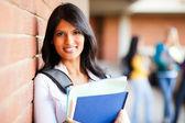 Closeup de estudante de faculdade — Foto Stock