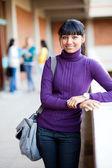 Female university student — Stock Photo