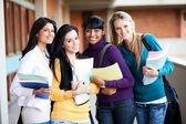 Skupina vysokoškolských studentů — Stock fotografie