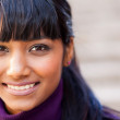 Young indian woman face — Stock Photo