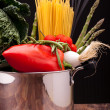 Stock Photo: Ingredients Of MediterraneDiet