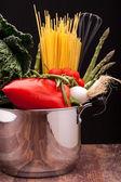 Ingredients Of Mediterranean Diet — Stock Photo
