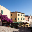 Reppublica Square View, Portoferraio, Elba - Stock Photo