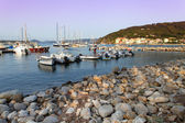 Marciana Marina At Dusk — Stock Photo