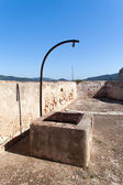 Old Water Well At Fort Stella, Elba Island — Stock Photo