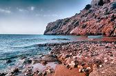 Kolymbia пляж — Стоковое фото