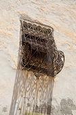 Detail of a tunisian window — Stock Photo