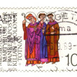 GERMANY - CIRCA 1989: a stamp printed in the Germany shows Saint - Stock Photo