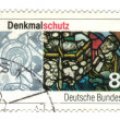 GERMANY - CIRCA 1986: A stamp printed in Germany, shows monument — Stock Photo