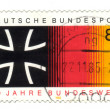 GERMANY - CIRCA 1985: stamp printed in Germany, shows 30 yrs fed - Foto Stock