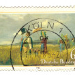 GERMANY - CIRCA 1985: stamp printed in Germany, shows The Sunday - Stockfoto