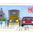 GERMANY - CIRC1986: stamp printed in Germany, dedicated — Stock Photo #11912480