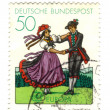 GERMANY- CIRCA 1981: stamp printed by Germany, shows South Germa — Stock Photo