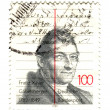 GERMANY - CIRCA 1989: A stamp printed in the Germany, dedicated — Photo