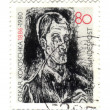 GERMANY - CIRCA 1986: A stamp printed in Germany, shows Bach Con - Stock Photo