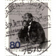 GERMANY - CIRCA 1985: stamp printed in Germany, shows portrait n - Stock Photo