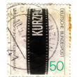 GERMANY - CIRCA 1979 : A stamp printed in Germany shows film cin - Stock Photo