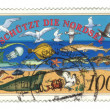 GERMANY - CIRCA 1990: a stamp printed in the Germany shows North — Stock Photo