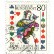 Royalty-Free Stock Photo: GERMANY - CIRCA 1986: A stamp printed in Germany, is dedicated t