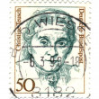 GERMANY - CIRCA 1986: A stamp printed in German Federal Republic — Stock Photo