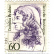 FEDERAL REPUBLIC OF GERMANY - CIRCA 1987: A stamp printed in Ger - Stock Photo