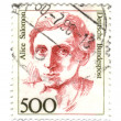 FEDERAL REPUBLIC OF GERMANY - CIRCA 1989: A stamp printed in Ger - Stock Photo