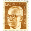 GERMANY - CIRCA 1971: A stamp printed in Germany showing a portr — Stock Photo