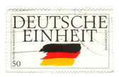 GERMANY - CIRCA 1995: a stamp printed in the Germany shows Germa — Stock Photo