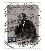 GERMANY - CIRCA 1985: stamp printed in Germany, shows portrait n — Stock Photo