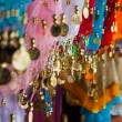 Belly dance costume details - Stock Photo
