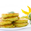 Squash fritters — Stock Photo #11281889