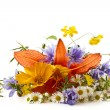 Bouquet of summer wildflowers — Stock Photo #11378789